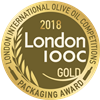 London International Olive Oil Competitions 2018 Total Image Gold Packaging Award