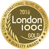 London International Olive Oil Competitions 2018 Gold Quality Award